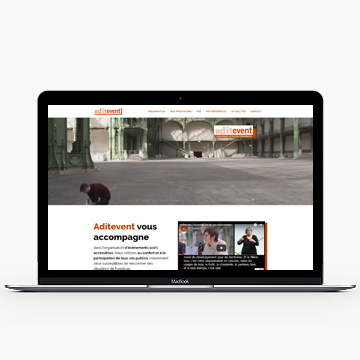 Aditevent showcase site