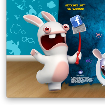 Lutti and The Raving Rabbids contest