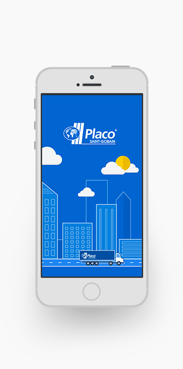 Mobile application for Placo drivers