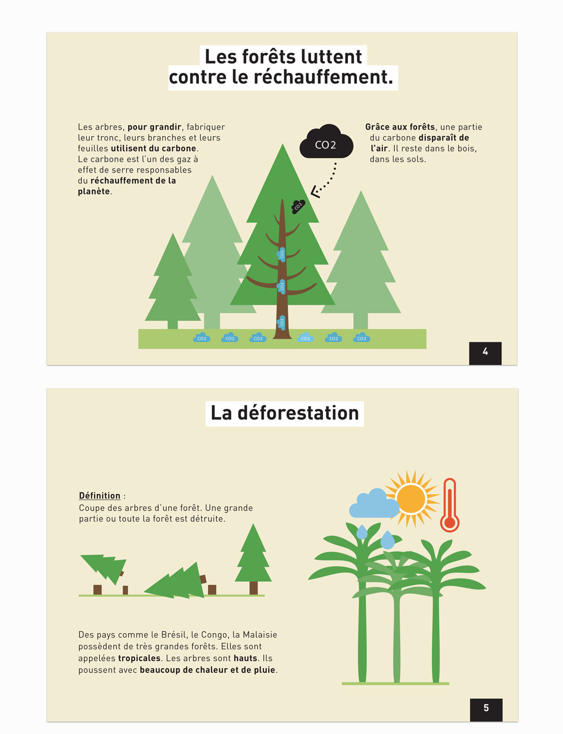 Guide in French for all® on the subject of forests and global warming