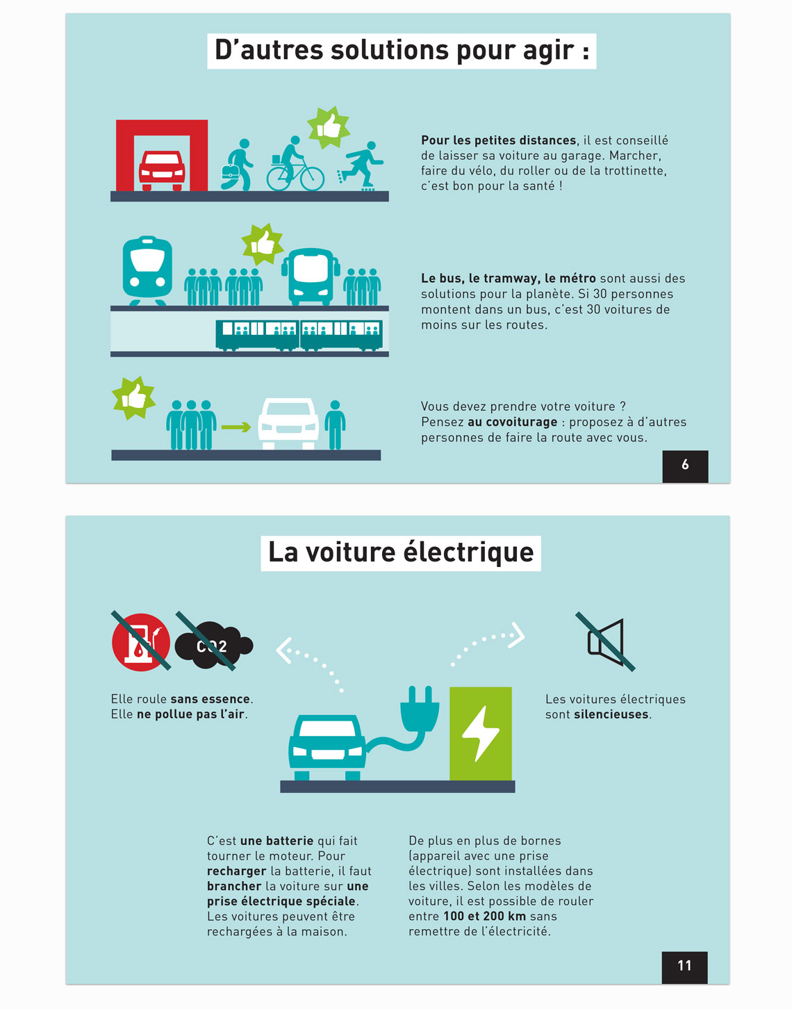Guide in French for all® on the subject of transports and climate change