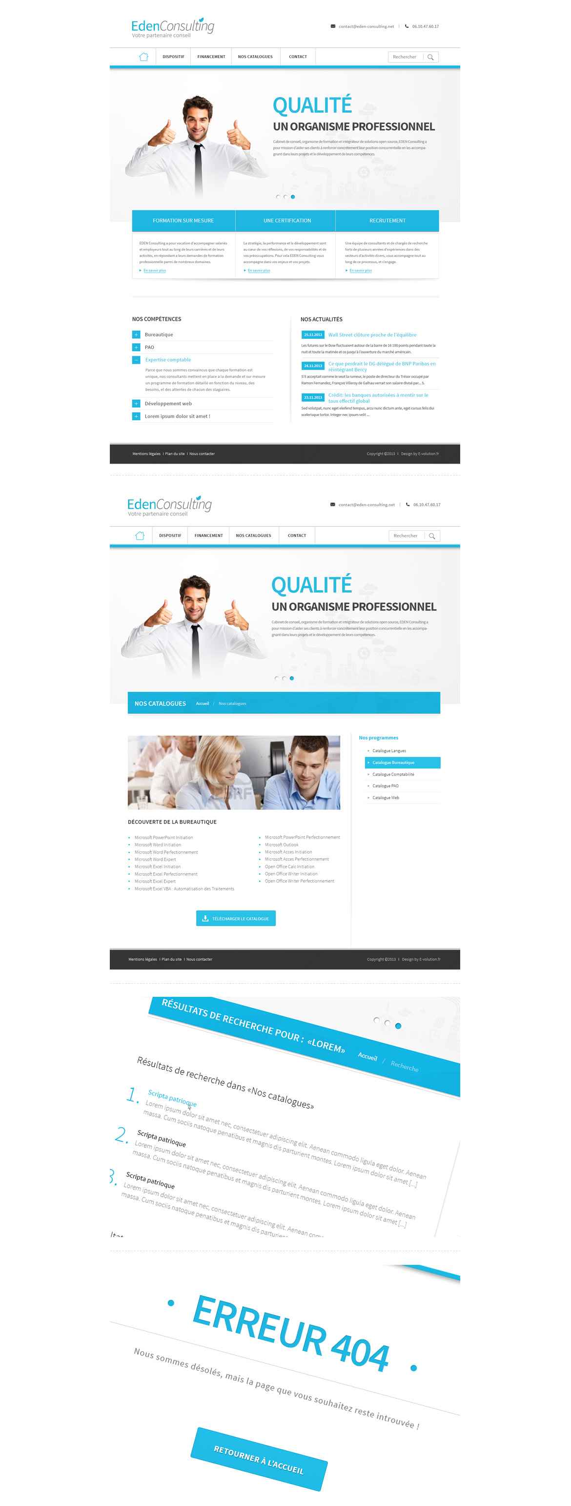 Web site Eden consulting