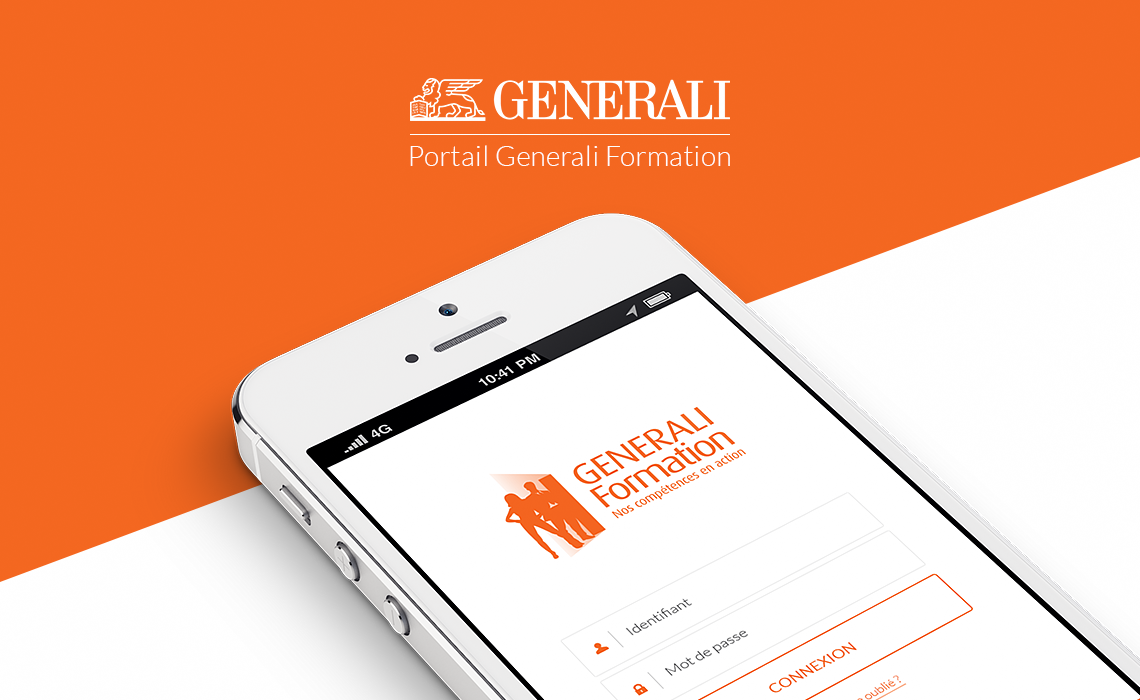 Generali Training Portal for mobile