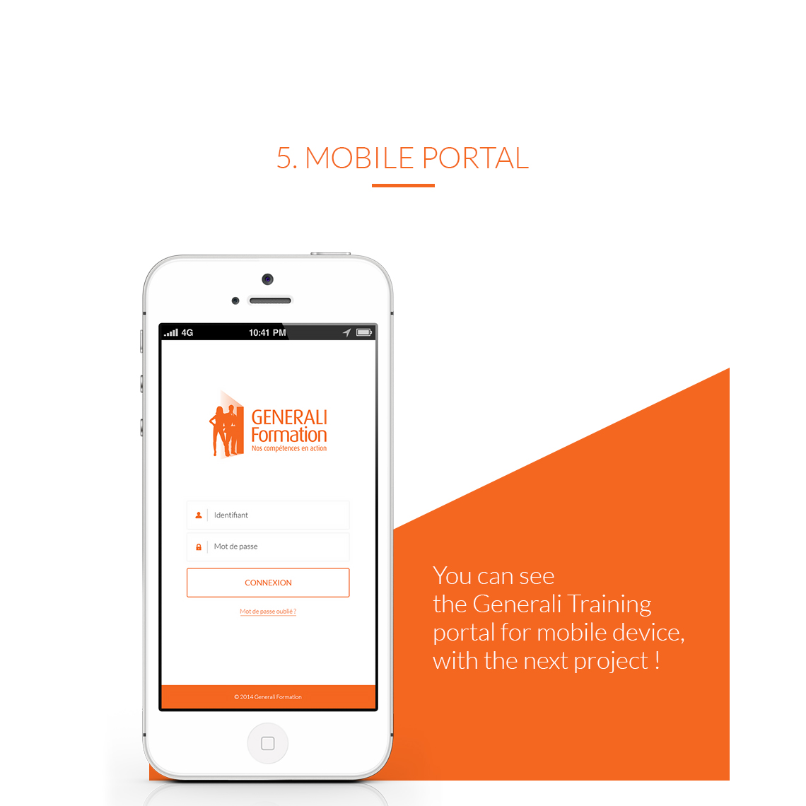 Portal for mobile device